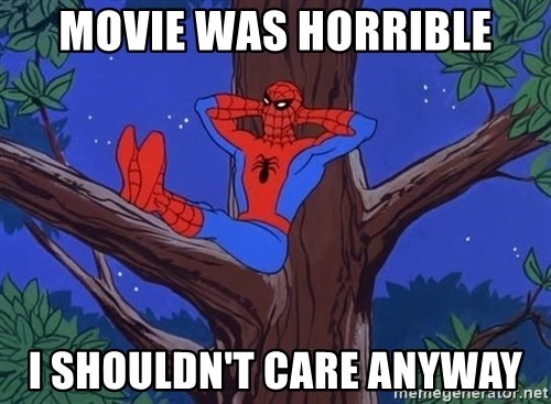 Spiderman Tree - movie was horrible i shouldn't care anyway