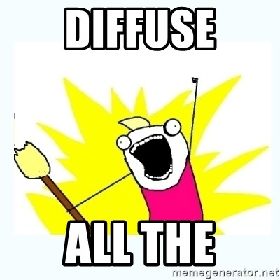 All the things - DIFFUSE ALL THE