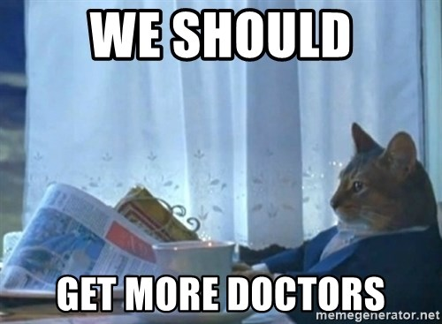newspaper cat realization - We should get more doctors