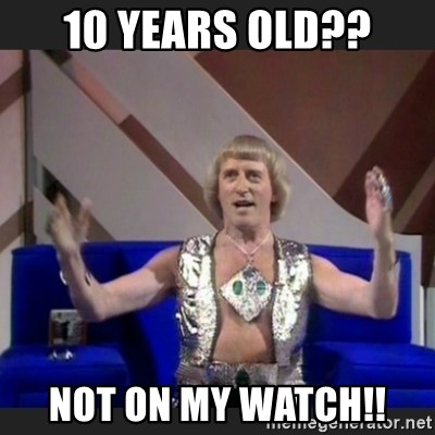 Jimmy Savile - 10 years old?? Not on my watch!!
