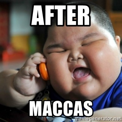 fat chinese kid - AFTER MACCAS