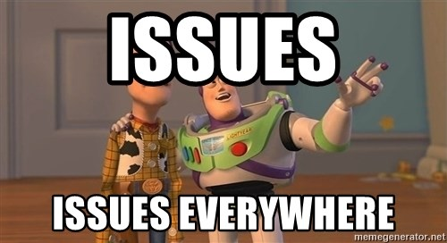 ORIGINAL TOY STORY - issues issues everywhere