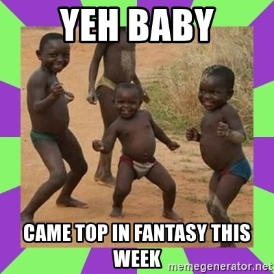 african kids dancing - YEH BABY CAME TOP IN FANTASY THIS WEEK