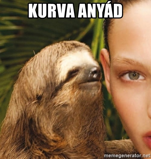 The Rape Sloth - kurva anyád
