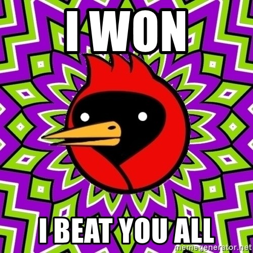 Omsk Crow - i won i beat you all