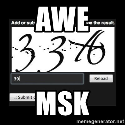 Captcha - awe msk