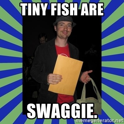Swag fag chad costen - Tiny Fish ARE SWAGGIE.