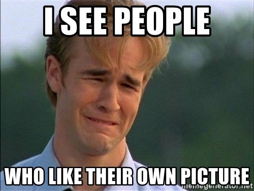 Crying Man - i see people who like their own picture