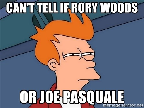 Futurama Fry - can't tell if rory woods or joe pasquale