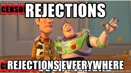 Toy Story Everywhere - Rejections Rejections evferywhere