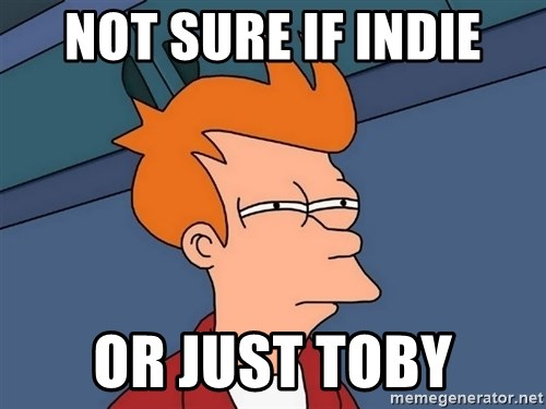 Futurama Fry - Not sure if indie or just toby
