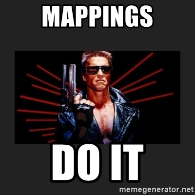 Arnold Terminator - MaPPINGS DO IT