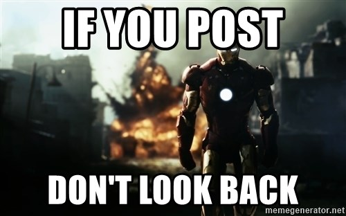 iron man explosion - If you post don't look back