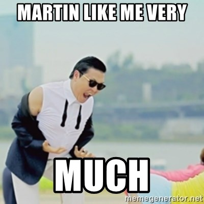 Gangnam Style - martin like me very  much