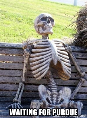 Waiting For Op -  Waiting for Purdue