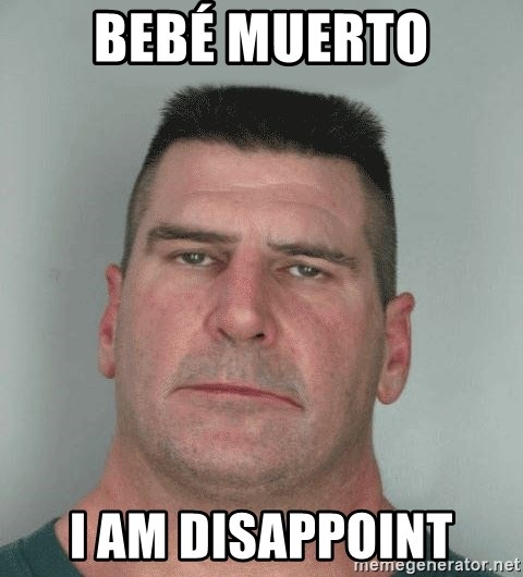 Son Am Disappoint - bebé muerto I AM DISAPPOINT