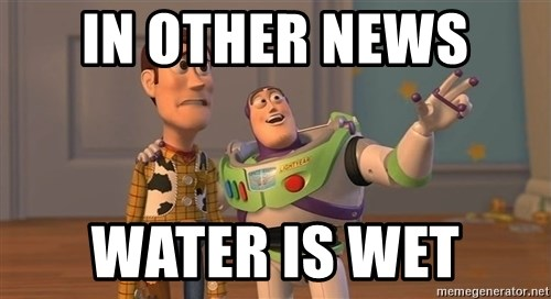 Toy Story Everywhere - in other news  water is wet