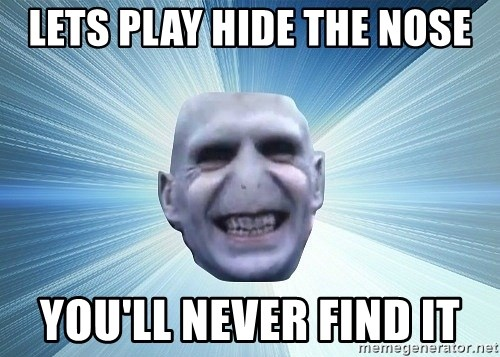 vold - LETS PLAY HIDE THE NOSE YOU'LL NEVER FIND IT