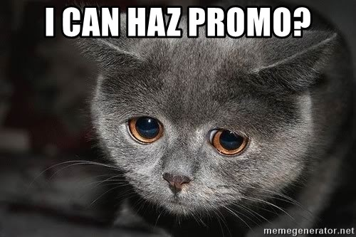 sad cat - I can haz promo?