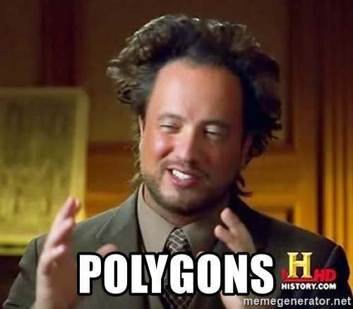 Ancient Aliens -  polygons
