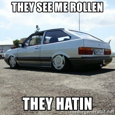 treiquilimei - THEY SEE ME ROLLEN THEY HATIN