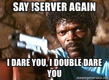 Pulp Fiction - SAY !SERVER AGAIN I DARE YOU, I DOUBLE DARE YOU