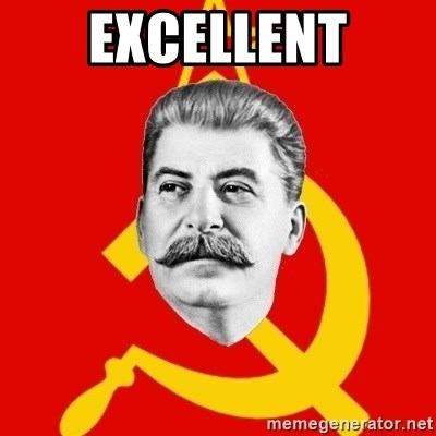Stalin Says - Excellent