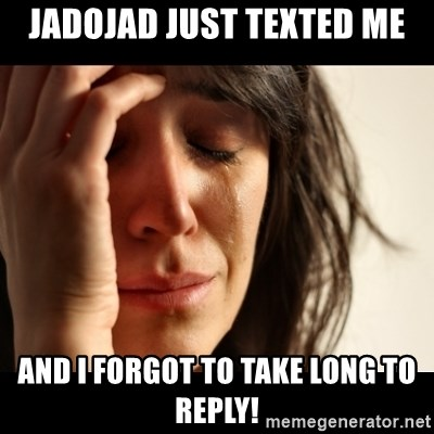 crying girl sad - JadoJad just texted me and i forgot to take long to reply!