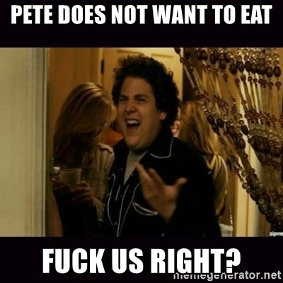 fuck me right jonah hill - Pete does not want to eat fuck us right?