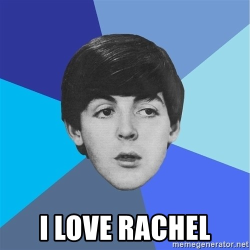 Paul Mccartney -  I love rachel