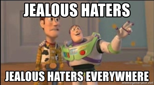 X, X Everywhere  - Jealous Haters Jealous Haters Everywhere