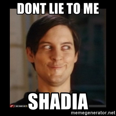 Tobey_Maguire - DONT LIE TO ME SHADIA