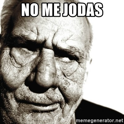 Back In My Day - NO ME JODAS