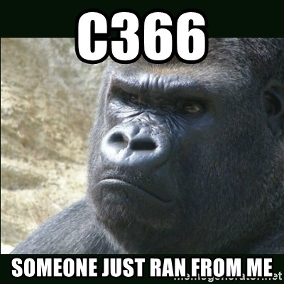 Rustled Jimmies - C366 SOMEONE JUST RAN FROM ME