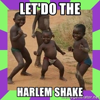 african kids dancing - LET'DO THE HARLEM SHAKE