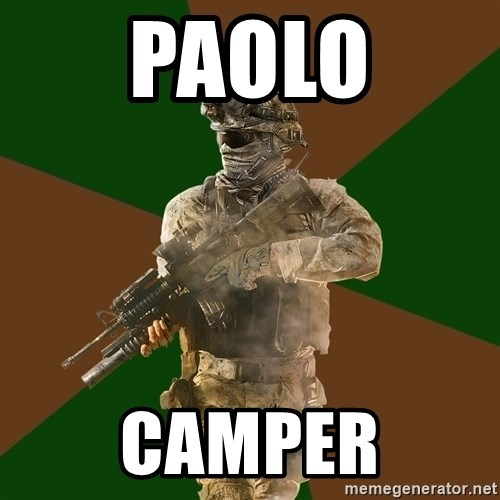 Call Of Duty Addict - PAOLO CAMPER
