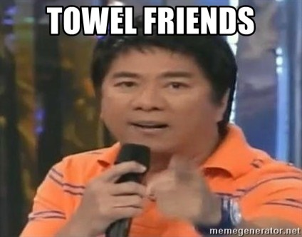 willie revillame you dont do that to me - TOWEL FRIENDS