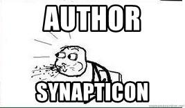 Cereal Guy Spit - author synapticon