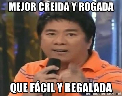 willie revillame you dont do that to me - MEJOR CREIDA Y ROGADA QUE FÁCIL Y REGALADA