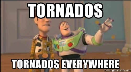 X, X Everywhere  - TORNADOS TORNADOS EVERYWHERE