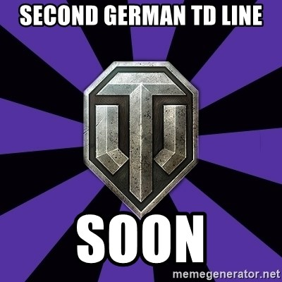 World of Tanks - SECOND GERMAN TD LINE SOON