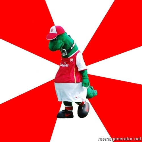 Arsenal Dinosaur -