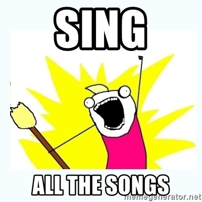 All the things - Sing All the songs