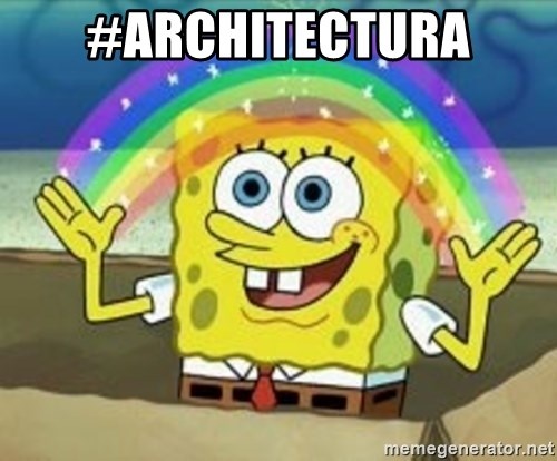 Spongebob - #architectura