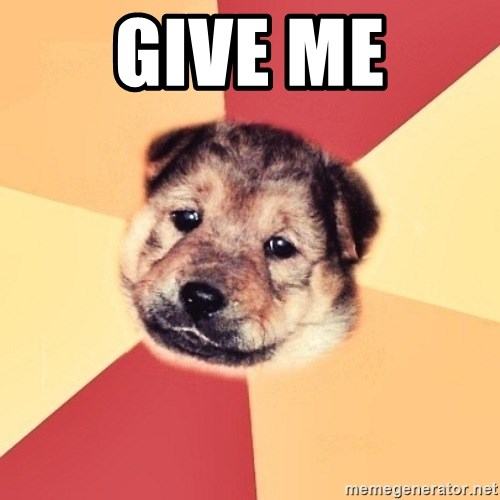 Typical Puppy - GIVE ME