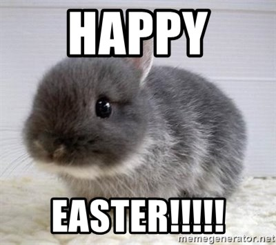 ADHD Bunny - HAPPY  EASTER!!!!!