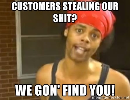 Antoine Dodson - customers stealing our shit? we Gon' find you!