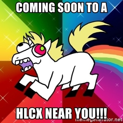 Lovely Derpy RP Unicorn - coming soon to a hlcx near you!!!