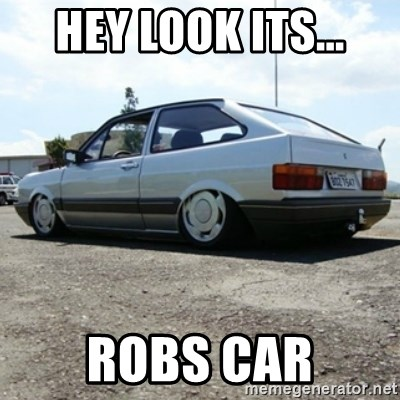 treiquilimei - HEY LOOK ITS... ROBS CAR