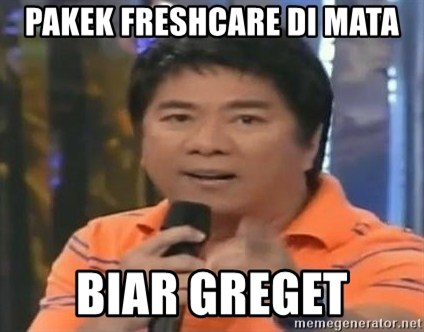 willie revillame you dont do that to me - PAKEK FRESHCARE DI MATA BIAR GREGET